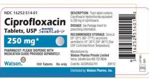سيپروفلوكساسين | CIPROFLOXACIN